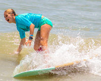 2015 Wahine Surf Classic Stock Photography