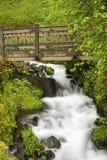Wahkeena Falls Stock Photo