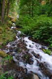 Wahkeena falls. At Clolumbia River Gorge, Oregon Stock Photo