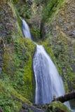 Wahkeena Waterfall Oregon Stock Photo