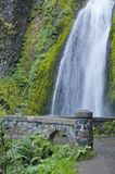 Wahkeena Waterfall Oregon Stock Image