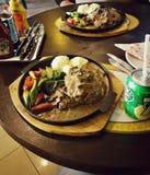 Wahkhan咖啡馆&面包师 免版税库存照片
