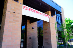 Wahl-Abteilung Lizenzfreie Stockbilder