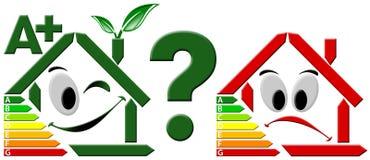 Wahl der Energieeinsparung Lizenzfreie Stockfotografie