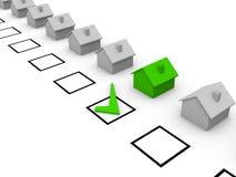 Wahl des Hauses Lizenzfreie Stockfotos