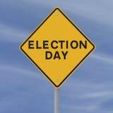 Wahltag Stockbild