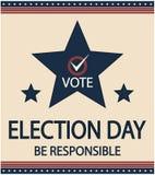 Wahltag Lizenzfreie Stockfotografie