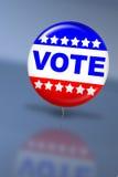 Wahltag-Abstimmungtaste Lizenzfreie Stockbilder