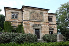 Wahnfried house in Bayreuth Stock Photo
