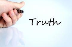 Wahrheits-Konzept Stockfotos