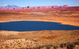 Wahweap Bay Lake Powell Glen Canyon Arizona Stock Photography