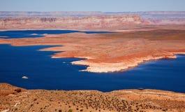 wahweap för powell för lake för glen för arizona fjärdkanjon royaltyfri bild