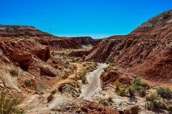 Wahweap hoodoo's trail near Page, Arizona, USA Stock Image