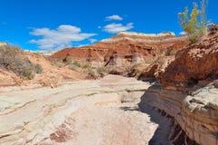 Wahweap hoodoo's trail near Page, Arizona, USA Royalty Free Stock Photo