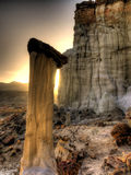 Wahweap Hoodoo Sunrise Royalty Free Stock Images