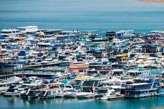 Wahweap Marina jezioro Powell Obrazy Royalty Free