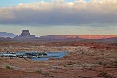 Wahweapjachthaven, Meer Powell, Pagina, Arizona stock foto