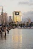 wai honolulu гавани рассвета ala городское Стоковые Изображения RF