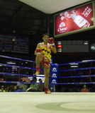 Wai Khru Ritual Stock Photo