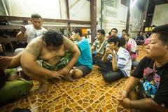 Wai Kroo Master Day Ceremony in Nakhon Chai, Thailand. Royalty Free Stock Photo