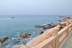 Wai Lingding island scenery Royalty Free Stock Image