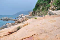 Wai Lingding island scenery Royalty Free Stock Images