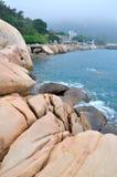 Wai Lingding wyspy sceneria Fotografia Stock
