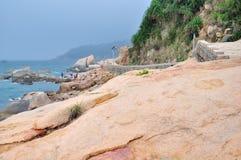 Wai Lingding wyspy sceneria Obrazy Royalty Free