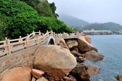 Wai Lingding wyspy sceneria Obraz Stock