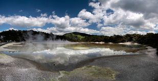 Wai-o-Tapu geothermal area Royalty Free Stock Image
