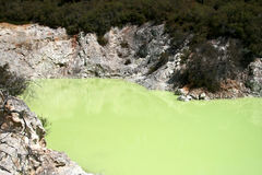Wai-O-Tapu,New Zealand Royalty Free Stock Photo