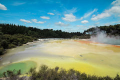 Wai-o-tapu New Zealand Royalty Free Stock Photo