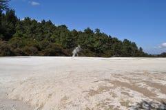 Wai-o-Tapu, Nowa Zelandia fotografia stock