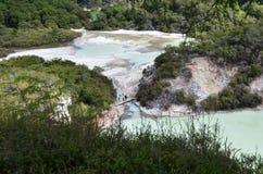 Wai-O-Tapu, Rotorua, New Zealand Royalty Free Stock Images