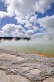 Wai-O-Tapu in Rotorua, Nuova Zelanda immagini stock