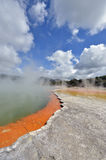 Wai-o-tapu thermal pool Royalty Free Stock Photos