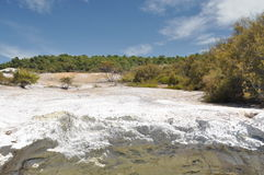 Wai-O-Tapu thermal wonderland Royalty Free Stock Photography