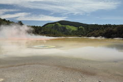 Wai-O-Tapu thermal wonderland Royalty Free Stock Photos