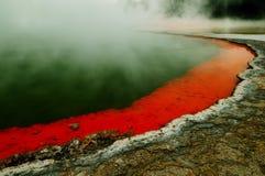Wai-O-Tapu. Thermal Wonderland, Rotorua. New Zealand. Geothermal attractions royalty free stock image