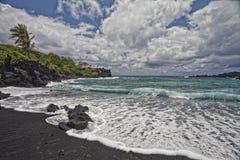 Waianapanapa State Park royalty free stock images
