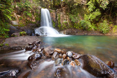 Waiau Falls New Zealand Stock Image