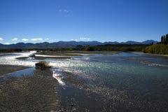 Waiau Fluss I Stockfotos