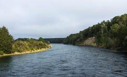 Waiau river along Kepler track Royalty Free Stock Photo