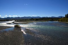 Waiau River I Stock Photos