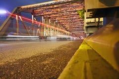 Waibaidu bridge, the famous historic steel bridge, Shanghai Stock Photo