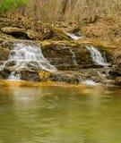 Waidwatervallen - Rocky Mount, Virginia, de V.S. stock afbeeldingen