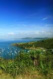 waiheke d'île de bateaux Photos libres de droits