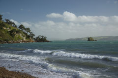 Waiheke Island beach, New Zealand Royalty Free Stock Photography