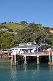 Waiheke Island Ferry wharf, Auckland, New Zealand Royalty Free Stock Images