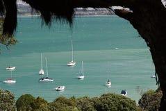 Waiheke wyspy, Nowa Zelandia schronienie Zdjęcie Royalty Free